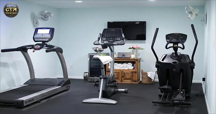 Setup phòng gym tại nhà với những bài tập về tim mạch