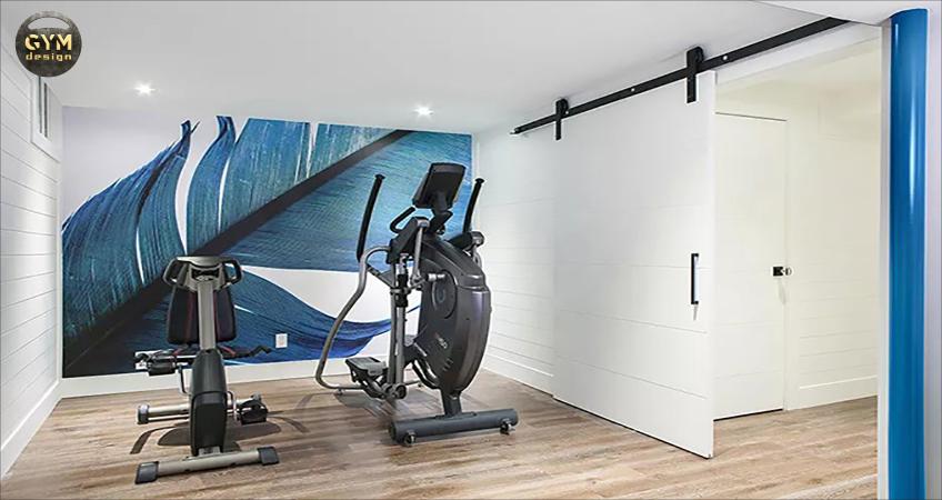Phòng gym tại nhà 2 máy tập đơn giản, tiết kiệm