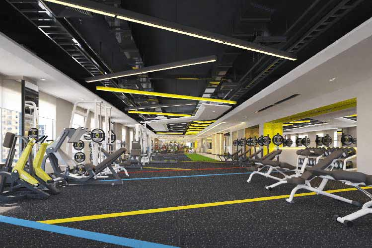 avar-thiet-ke-phong-gym-elite-fitness-vinh-trung