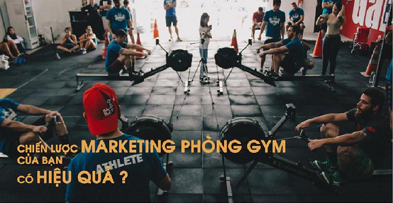 chiến dịch marketing phòng tập