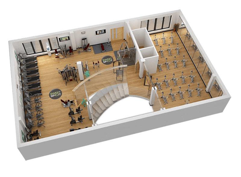 thiết kế phòng tập gym cần những gì
