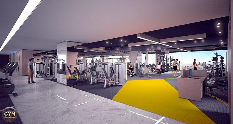 tư vấn thiết kế phòng gym đẹp