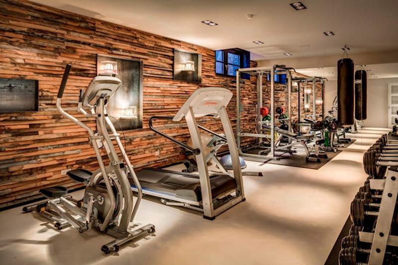 mẫu phòng gym bình dân đẹp