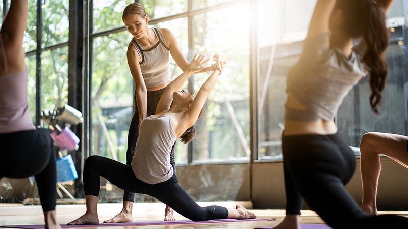 loại hình kinh doanh phòng tập thể hình, yoga
