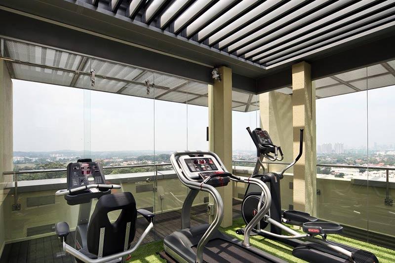 phòng tập thể dục đẹp tại nhà