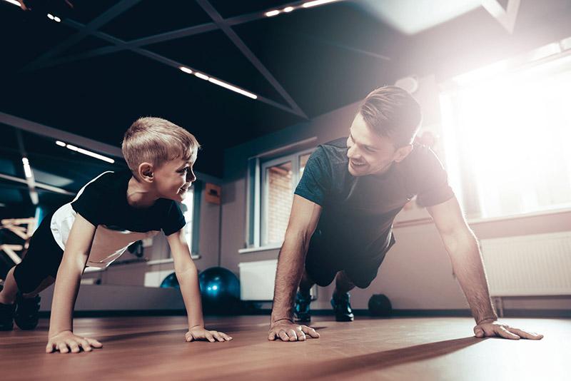 tập gym tại nhà