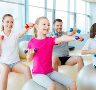 phòng tập gym cho trẻ em