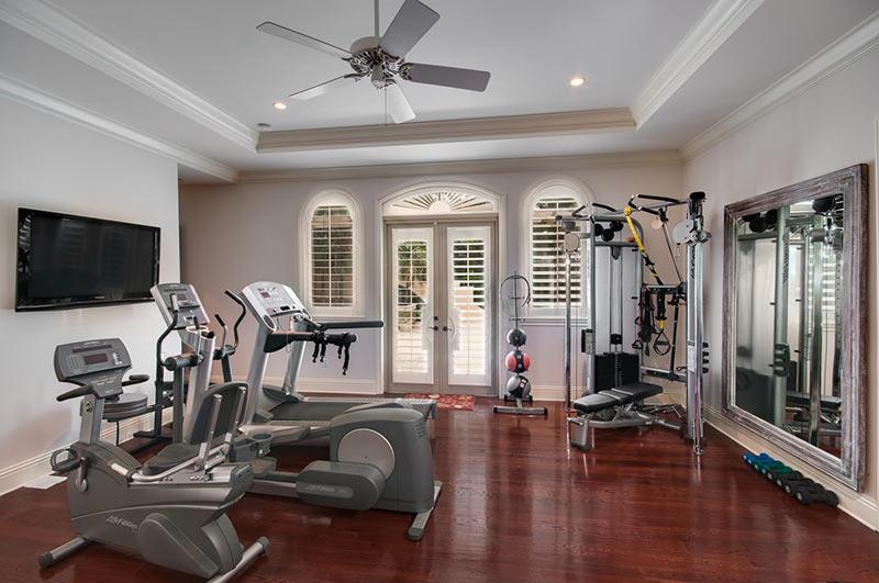 mẫu phòng gym tại nhà