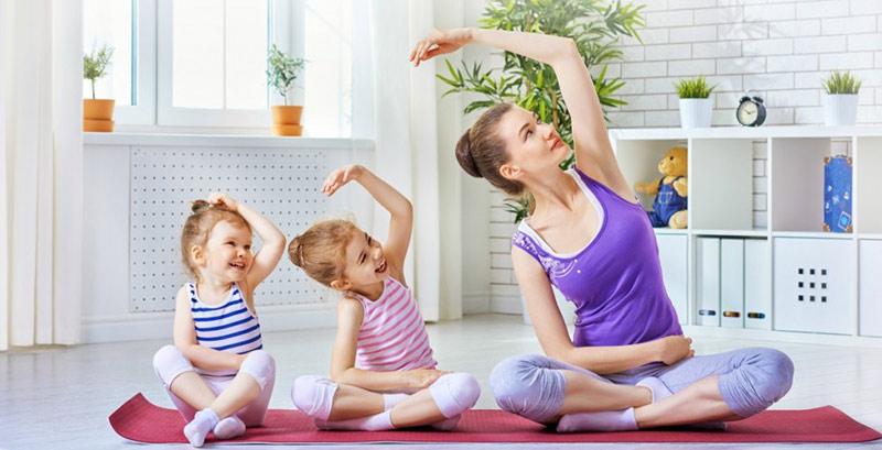 Rèn luyện sức khỏe cho cả gia đình