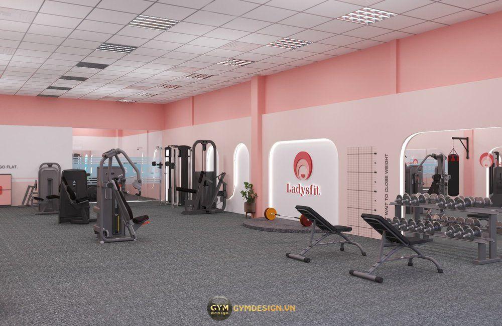 thiet-ke-phong-gym-nu-ladysfit-gym